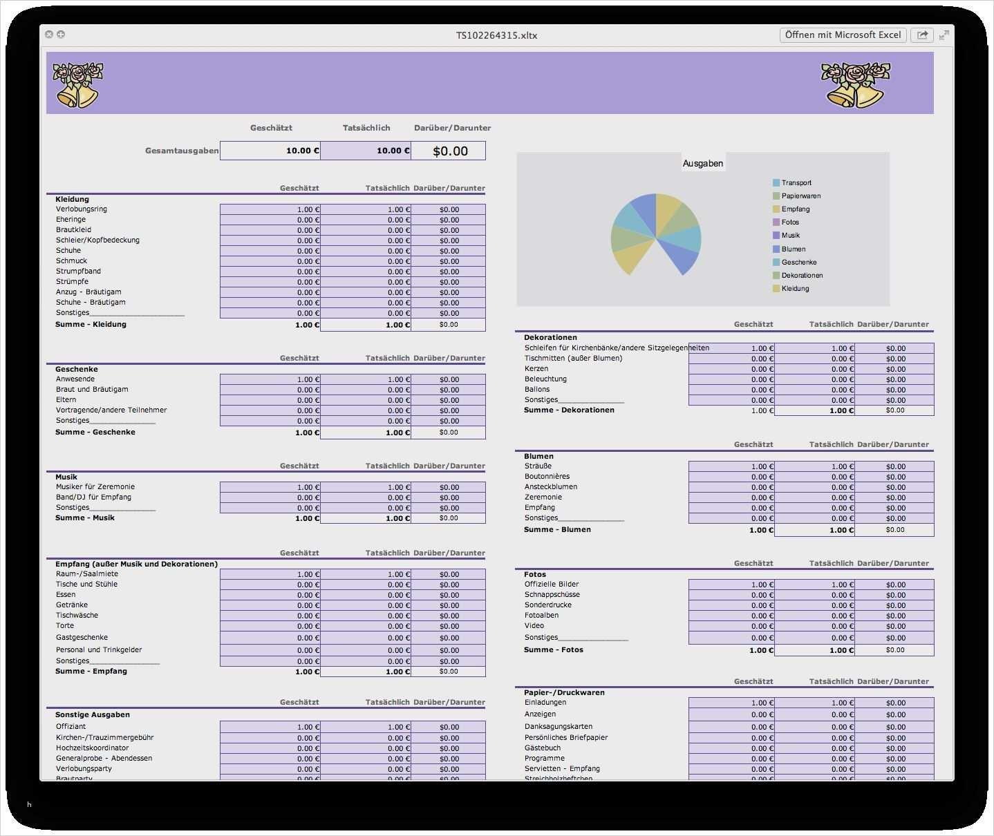 42 Bewundernswert Excel Vorlagen Kostenaufstellung Diese Konnen Adaptieren In Microsoft Word Excel Vorlage Vorlagen Deckblatt Vorlage