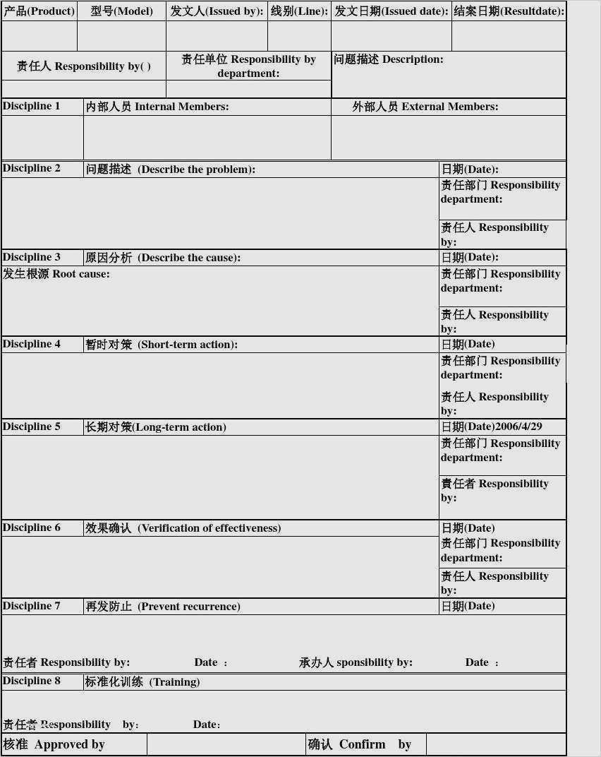 Bb6a5 8d Report Template Wiring Library With Regard To 8d Report Format Template Great Cretive Templa Report Template Best Templates Professional Templates