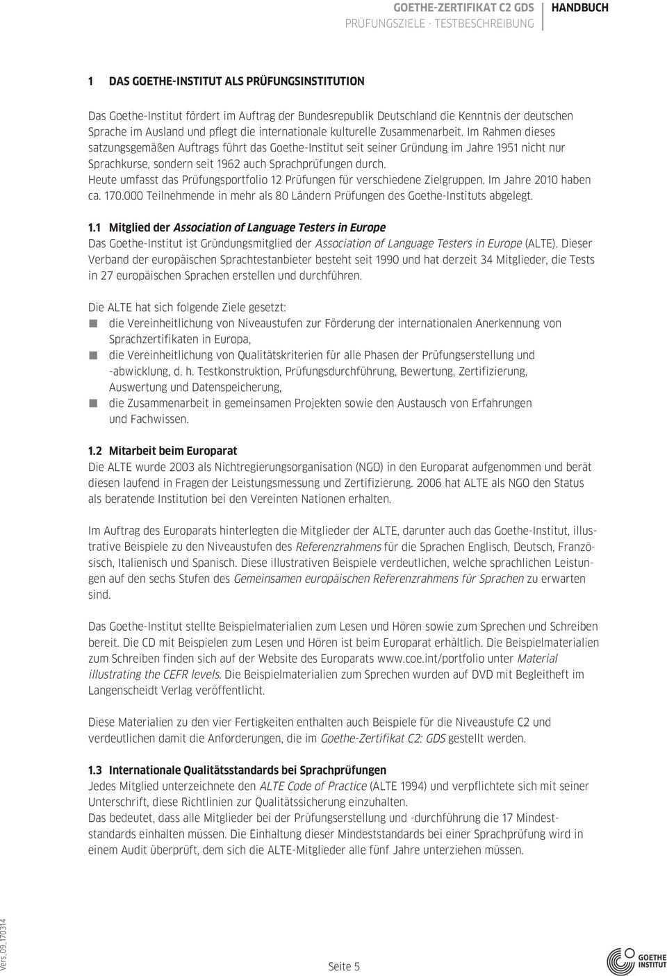 Goethe Zertifikat C2 Pdf Kostenfreier Download