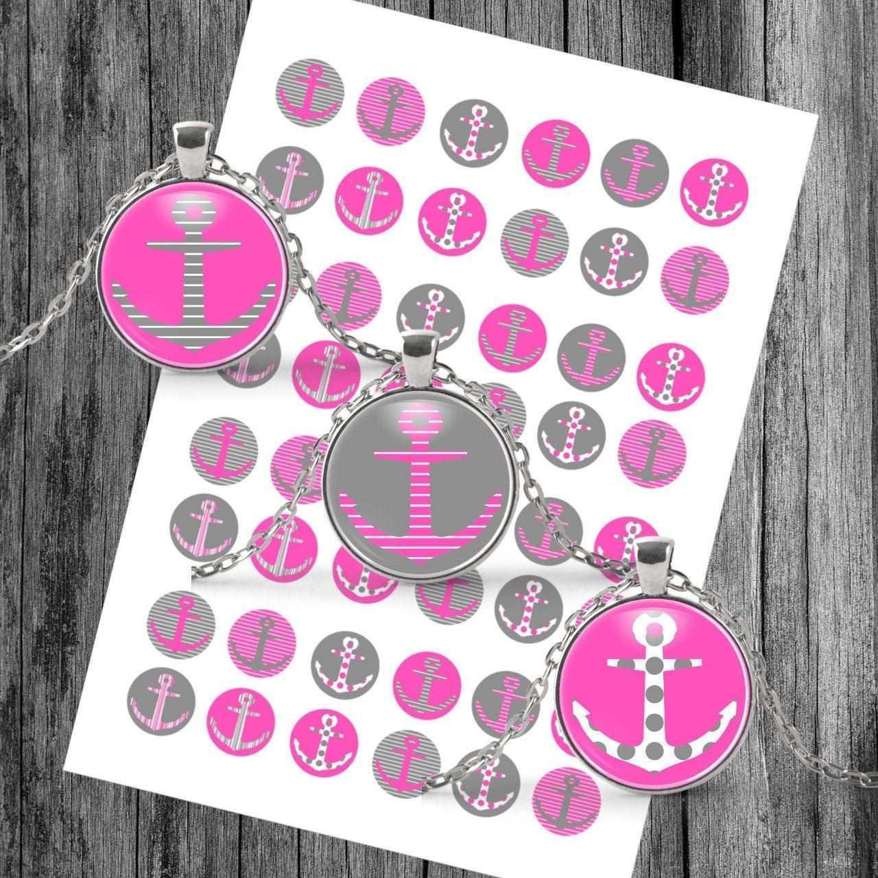 Anker Cabochon Vorlage Digital Download Template Anker Collage Etsy Etsy Digital Design Templates