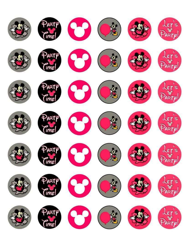 Pin Von Nathalia Calvo Auf Cupcake Toppers Cabochon Vorlagen Ausdrucken Vorlagen