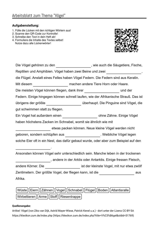 Arbeitsblatter Zum Thema Arbeitsblatter Aufgabenstellung Unterricht Schule
