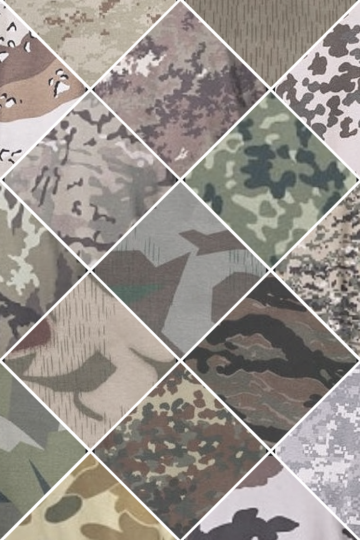 Camouflage Pattern From Many Different Armys Around The World Like Bw Camo Flecktarn Woodland Cce Cz Camo At Digital Operation Camo Tiger Stri Flecktarn