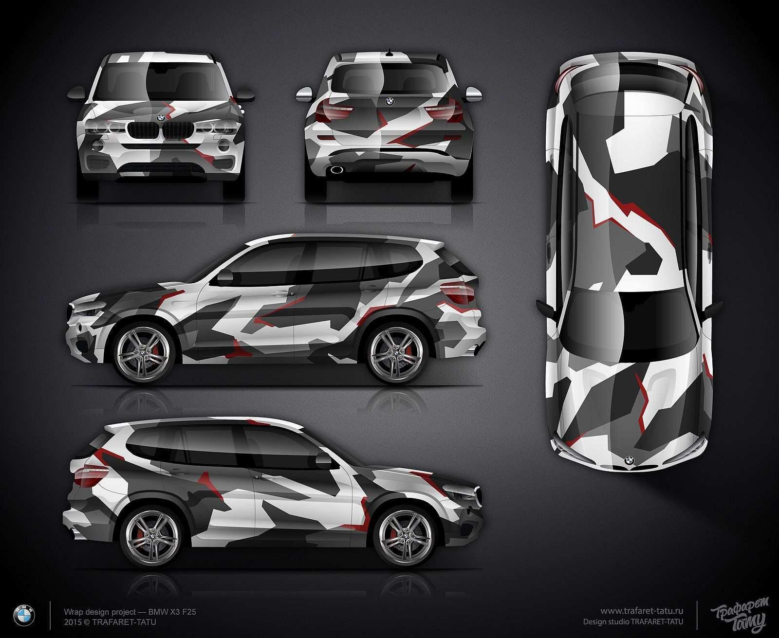 Geometric Camo Wrap Design For Bmw X3 F25 Camo Car Car Wrap Design Car Wrap