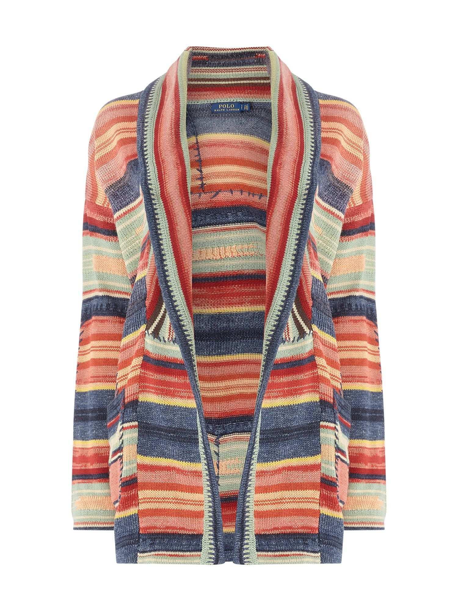 Bei P C Strickjacken Cardigans Von Polo Ralph Lauren Jetzt Polo Ralph Lauren Cardigan Mit Ethno Muster In Rot Online Kaufen Soft Autumn Fashion Sweaters