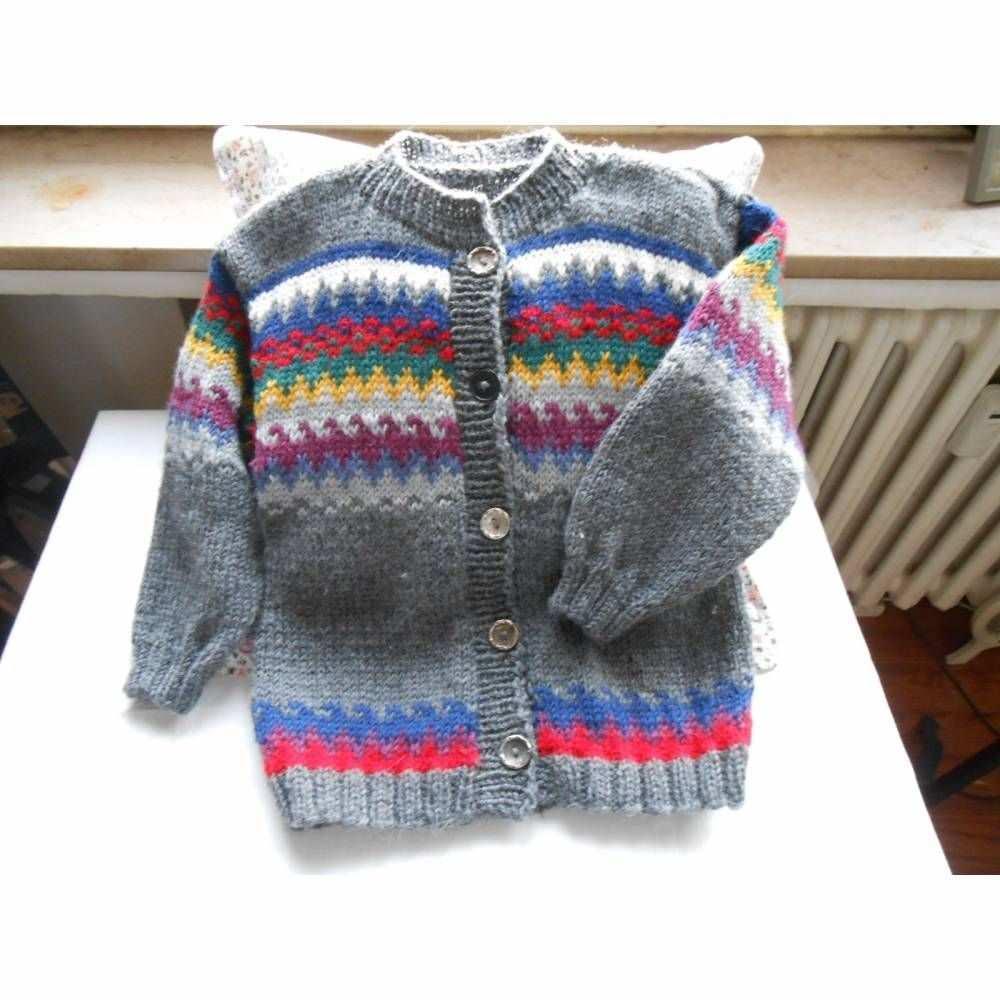 Kinderstrickjacke Mit Muster In 2020 Fashion Sweaters Cardigan