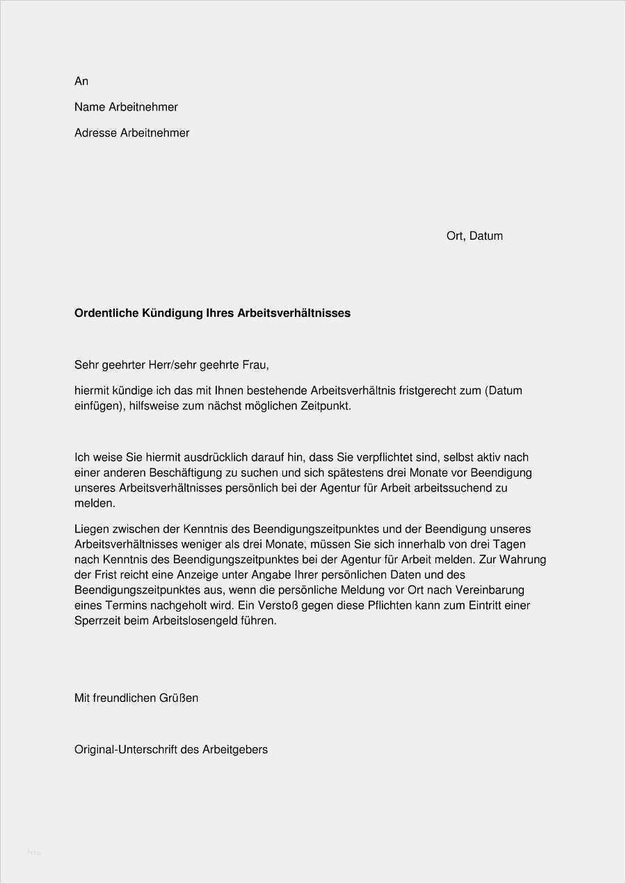 23 Fabelhaft Fitx Kundigung Vorlage Pdf Bilder Vorlagen Word Kundigung Arbeitsvertrag Kundigung Schreiben