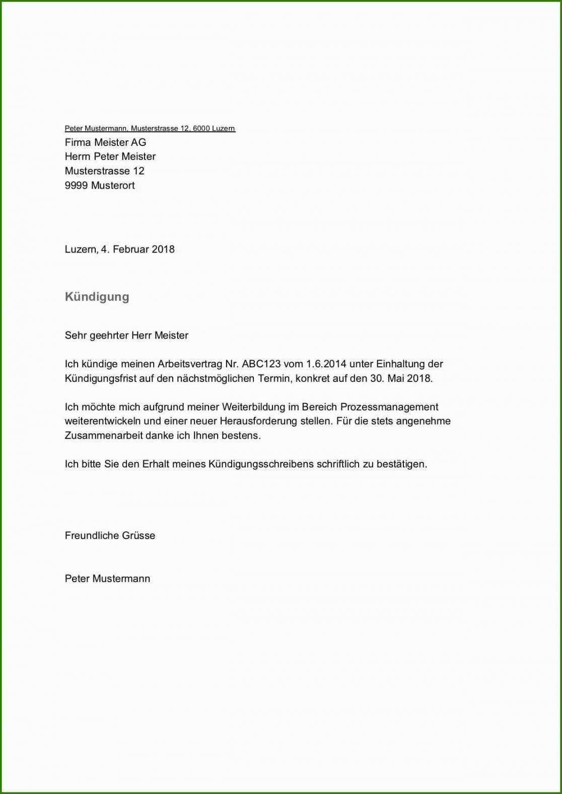 Unglaublich Kundigung Gas Vorlage Vorlagen Word Vorlagen Kundigung