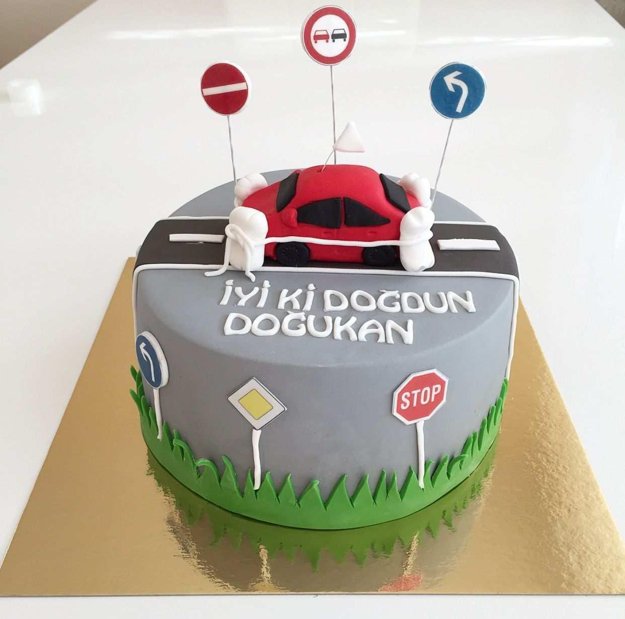 Fuhrerschein Torte Cars Kuchen Kuchen Torten