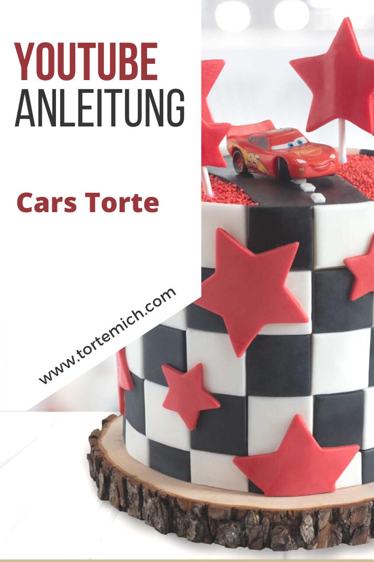 Anleitung Cars Torte In 2020 Auto Torte Motivtorten Einfach Hochzeitstorte Selber Machen