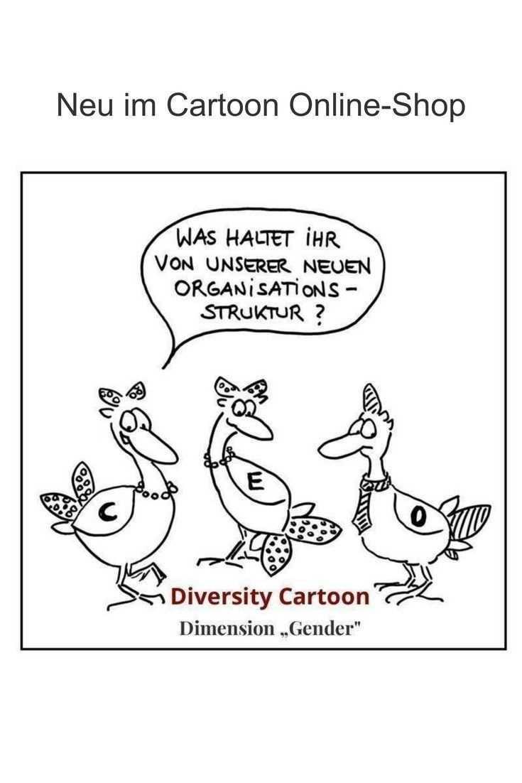 Diversity Cartoon Dimension Gender Durch Die Verwendung Der Entenahnlichen Charaktere Kommt Es Zu Einem Ver Erhohtes Bewusstsein Verfremdung Visualisierung