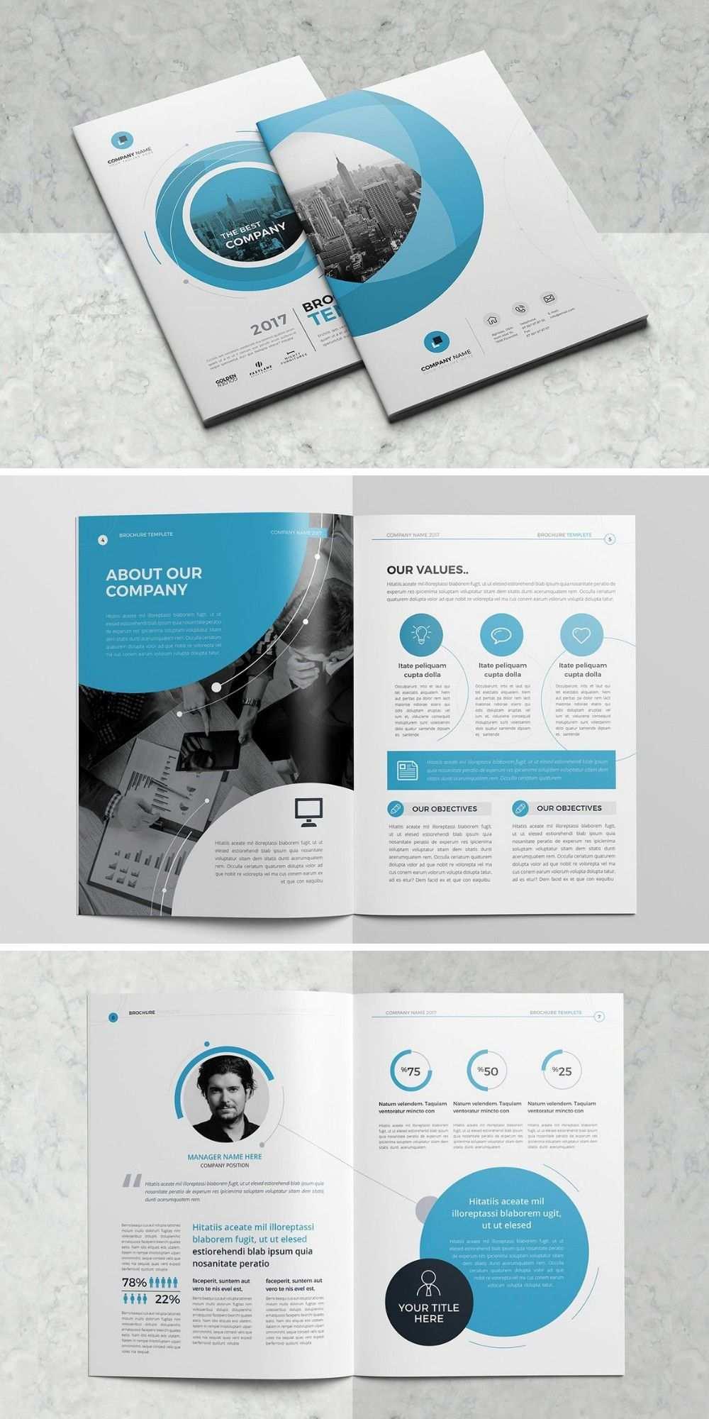 Mockup Vorlage Unternehmensbroschure Unternehmensbroschure Broschure Broschure Design