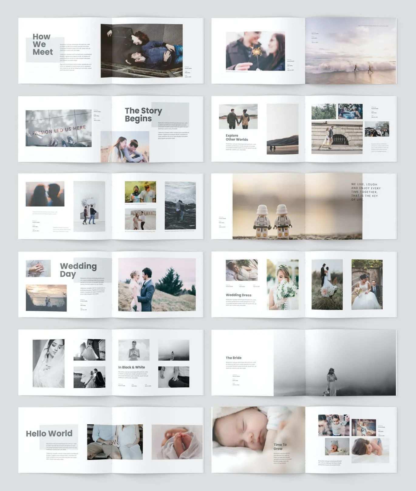 A5 Minimalist Photobook Design Photobooks Design Album Design Layout Photobook Design