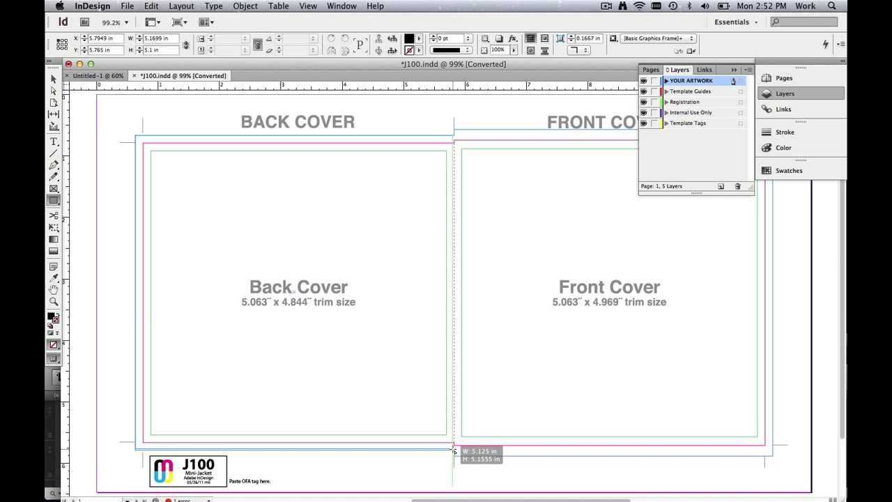 How To Use Cd Dvd Templates To Design In Adobe Indesign Youtube