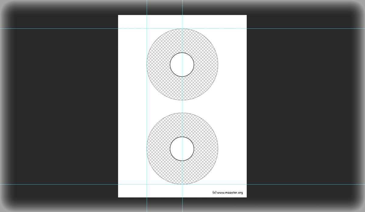 Download Kostenlose Photoshop Vorlage Fur Avery Zweckform Cd Dvd Label Maasters Webseite