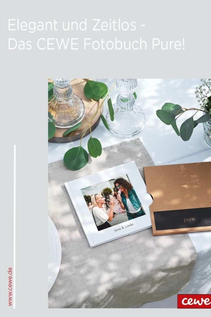 Cewe Fotobuch Pure Individuell Gestalten In 2020 Cewe Fotobuch Fotos