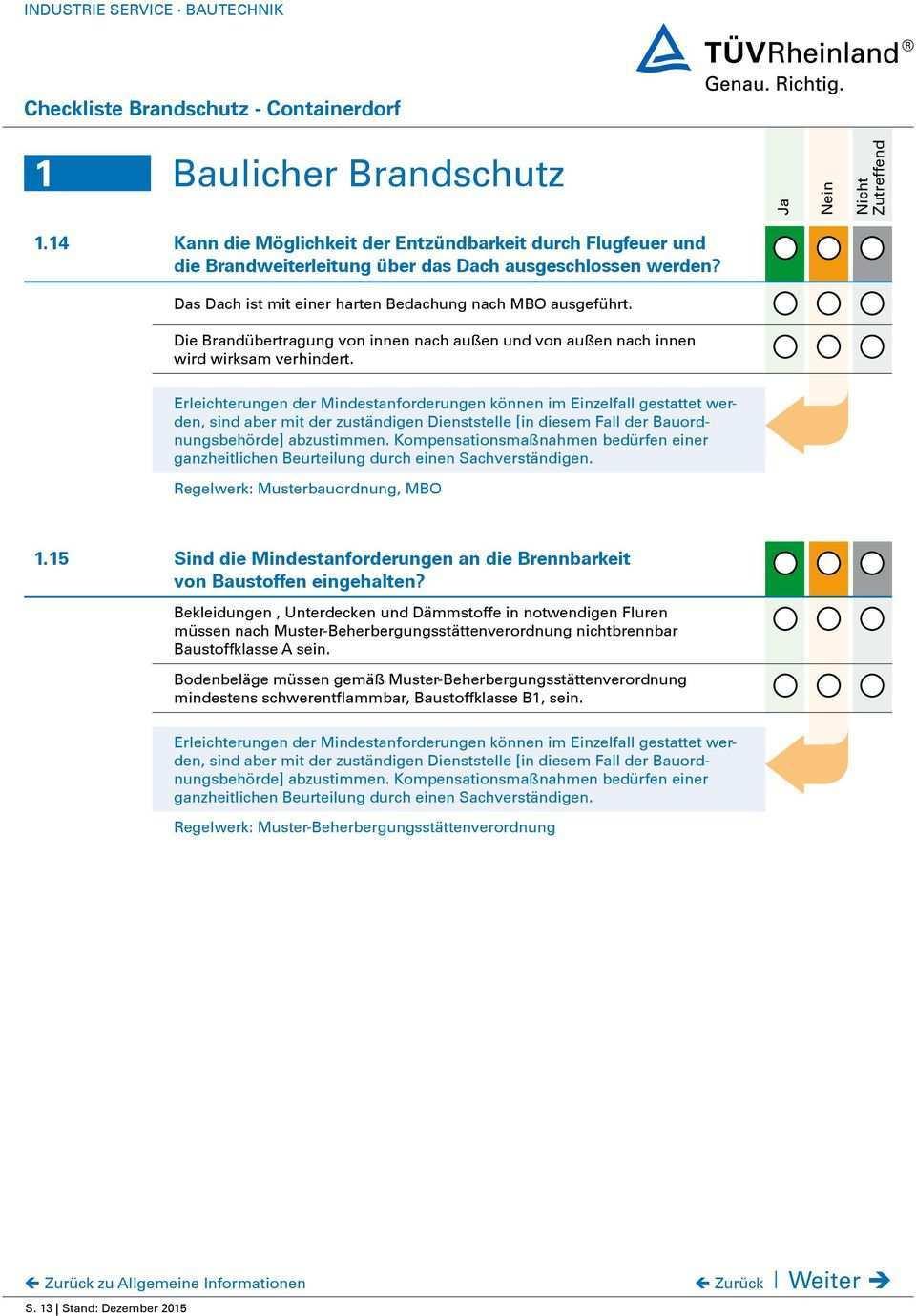 Checkliste Zur Erstbeurteilung Des Brandschutzes Fur Fluchtlingsunterkunfte Pdf Free Download