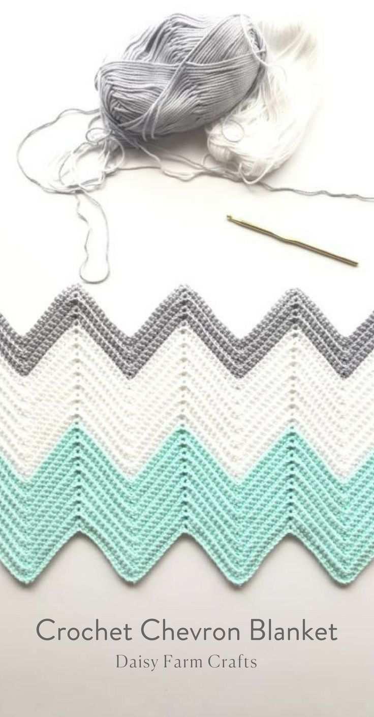 Free Pattern Hakeln Sie Chevron Decke Strickdecke Muster Wellen Hakeln Afghanische Hakelmuster