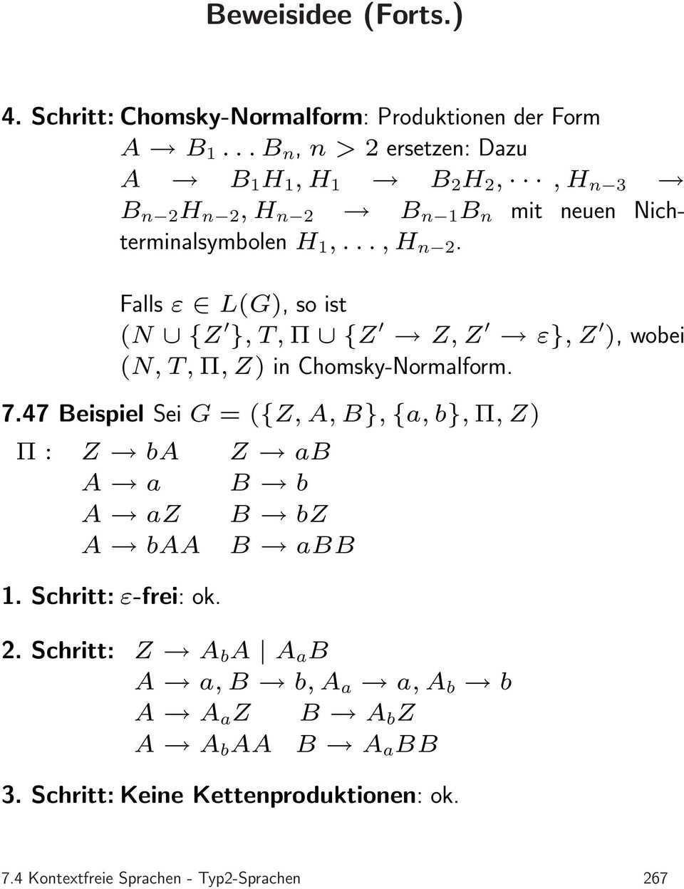 Wortproblem Fur Kontextfreie Grammatiken Pdf Free Download