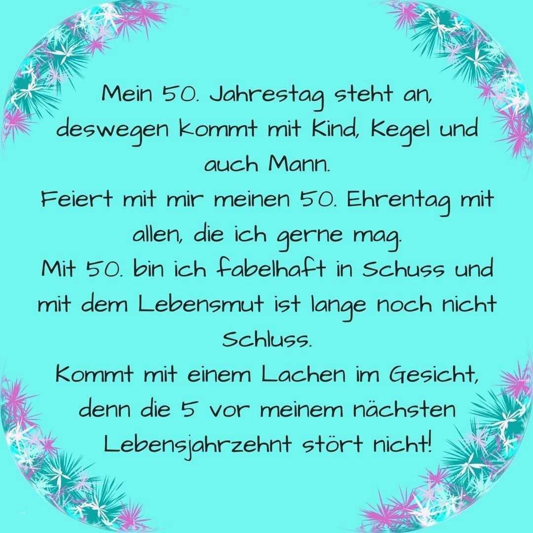Einladungskarten Einladung Zum 50 Geburtstag Selbst Gestalten Einladung Insp Einladung 50 Geburtstag Einladung Geburtstag Text Einladungskarten Geburtstag