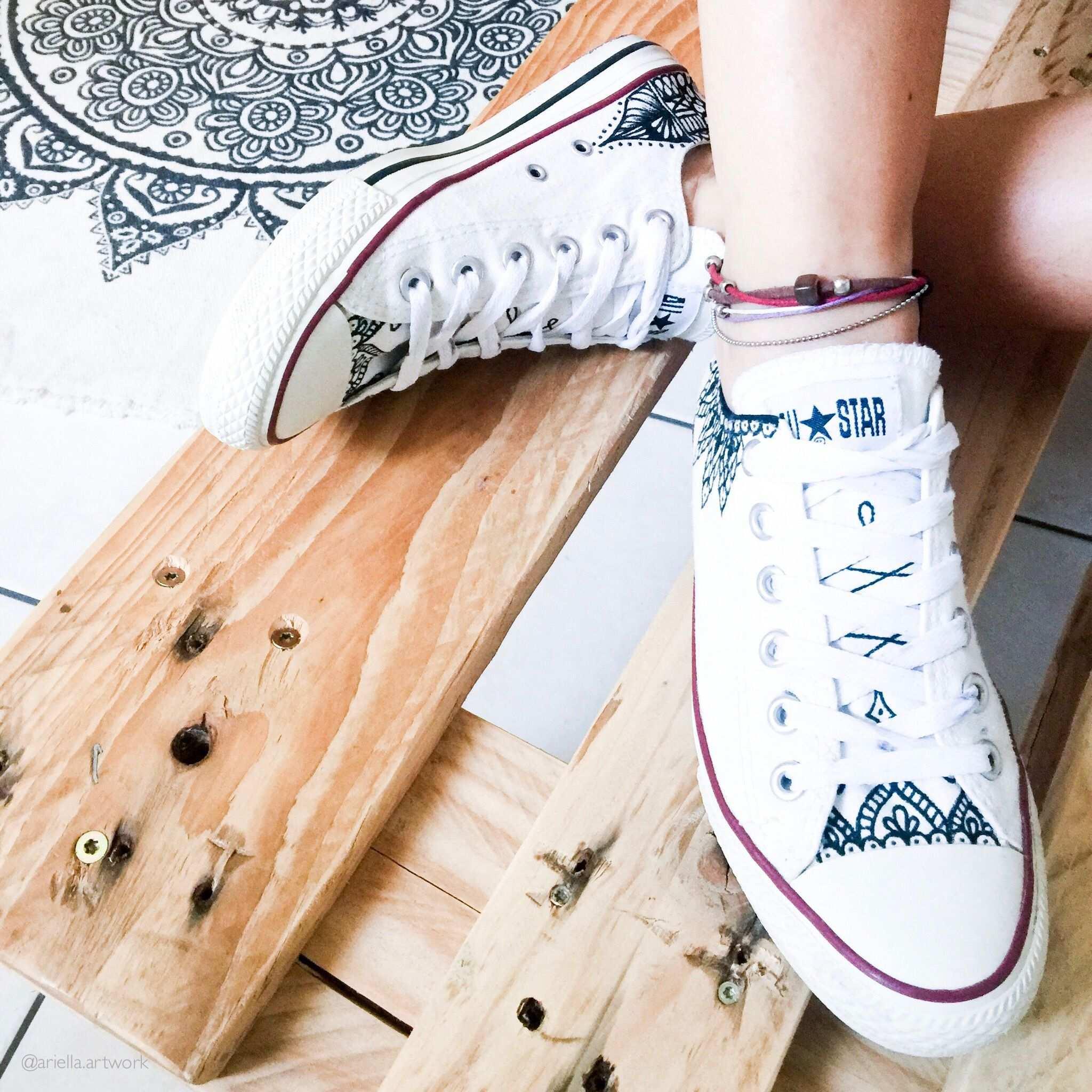 Diy Chucks Bemalen Handbemalte Schuhe Designerschuhe Damenschuhe