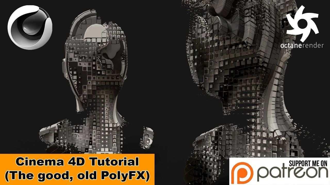 The Good Old Polyfx Cinema 4d Tutorial In 2020 Freiwillige Vor Langer Zeit Animation
