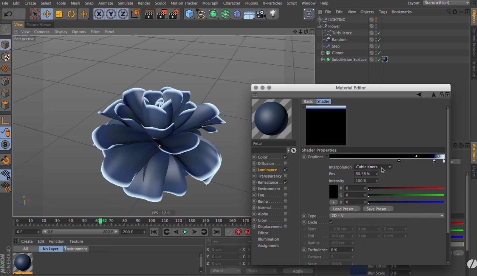 Making Infinite Blooming Flower With Cinema 4d Tutorial Cinema 4d Tutorial Cinema 4d Motion Graphics Tutorial