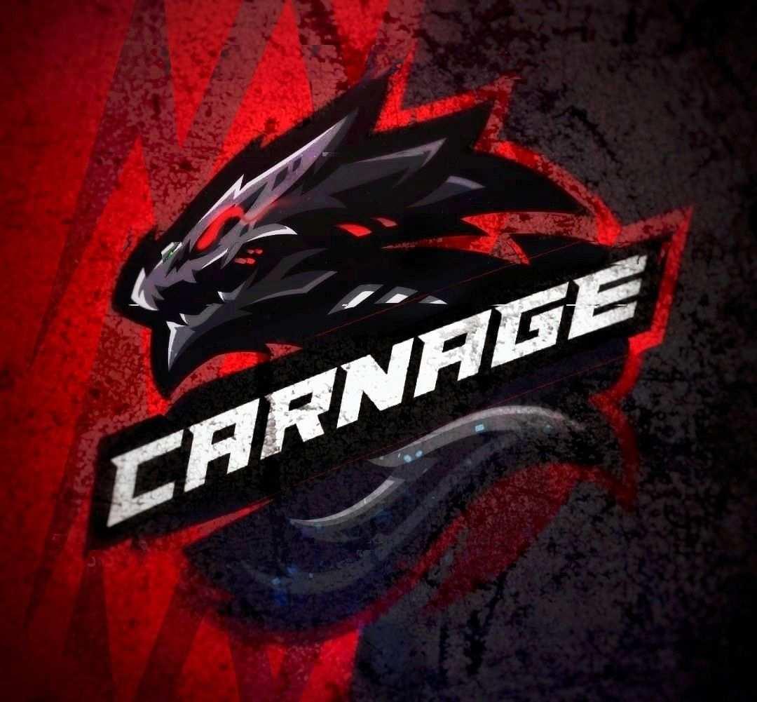 Carnage Mascot Logo Pubg Logo Keren Desain Logo Gambar