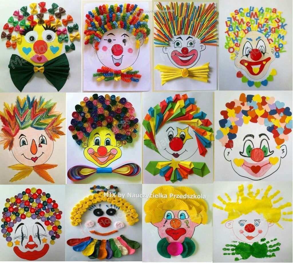 Clown Basteln Clown Basteln Karneval Basteln Karneval Basteln Kindern