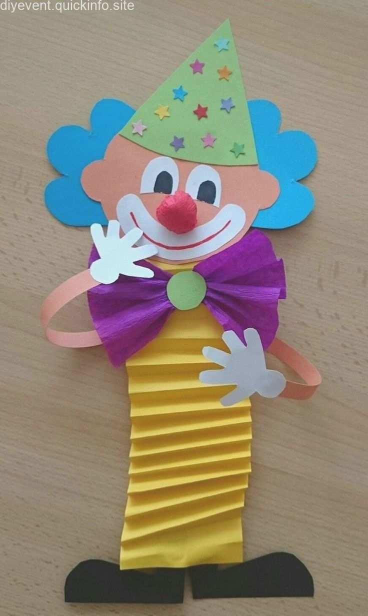 Clown Basteln Mit Kindern Zu Fasching Vorlagen Ideen Und Anleitungen Clown Basteln Muttertagsgeschenke Basteln Mit Kindern Fasching Basteln Mit Kindern