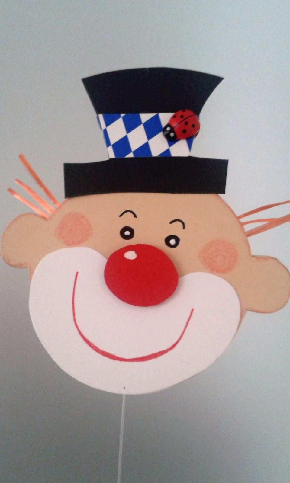 Fensterbild Clown Kette Fasching Karneval Dekoration Tonkarton Fasching Im Kindergarten Einladungskarten Kindergeburtstag Basteln Karneval Basteln Kindern
