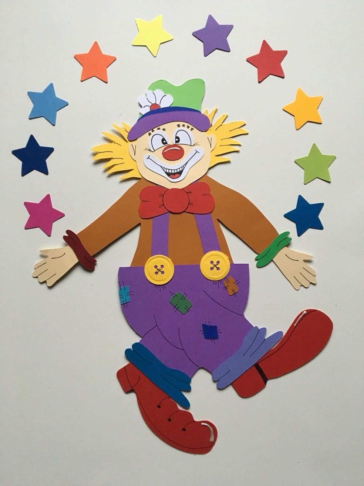 Fensterbild Tonkarton Clown Karneval Deko Handarbeit Motiv 21 Neu Xxl Eur 7 50 Hier Konnen Sie Ein Handgefertigtes Karneval Deko Clown Handwerk Zirkus Kunst