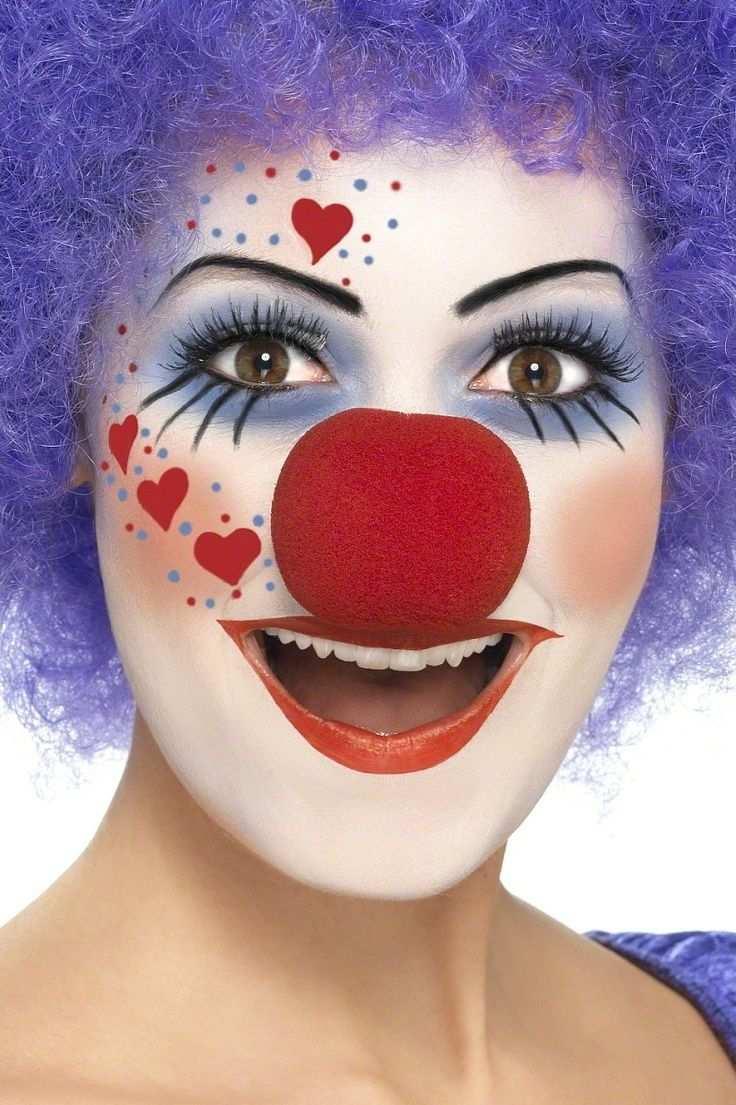 Fasching Make Up Im Letzten Moment Clown Schminken Anleitung Diy Fasching Zenideen Fasching Schminken Karneval Schminken Clown Schminken Frau