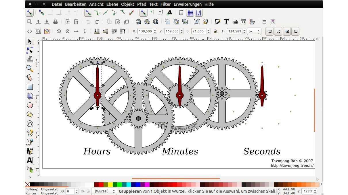 Grafikprogramm Inkscape Mit Schnellerem Renderer Grafik 3d Drucker Programm