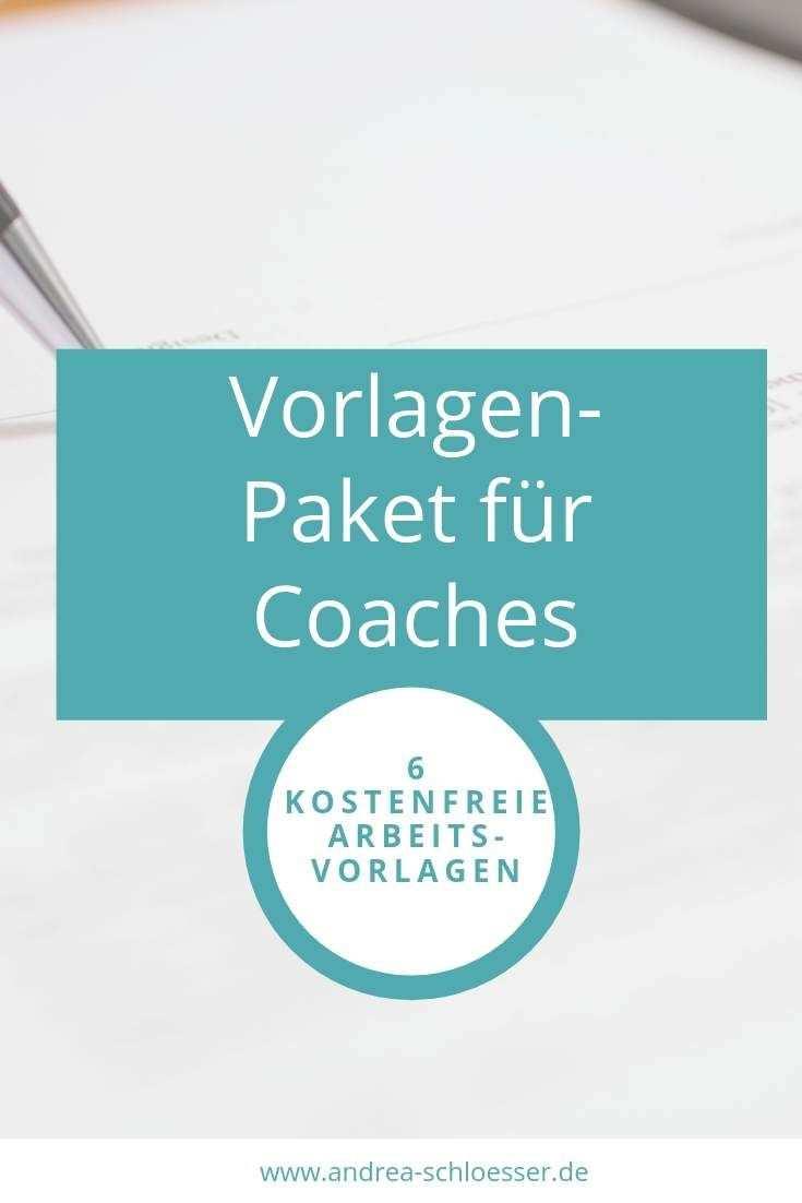 Vorlage Fur Erstgesprach Coachingvereinbarung Und Vieles Mehr Coaching Lernen Geschaftsplane