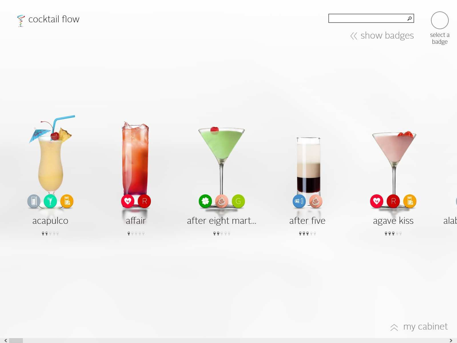Cocktail Flow Windows 8 App Download Chip