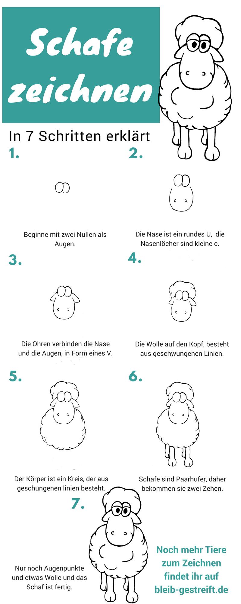 Schafe Zeichnen Comicbooks Eine Anleitung Zum Zeichnen Und Malen Eines Comic Schafs In 2020 Schaf Zeichnen Zeichnen Lernen Fur Anfanger Zeichnen Lernen Fur Kinder