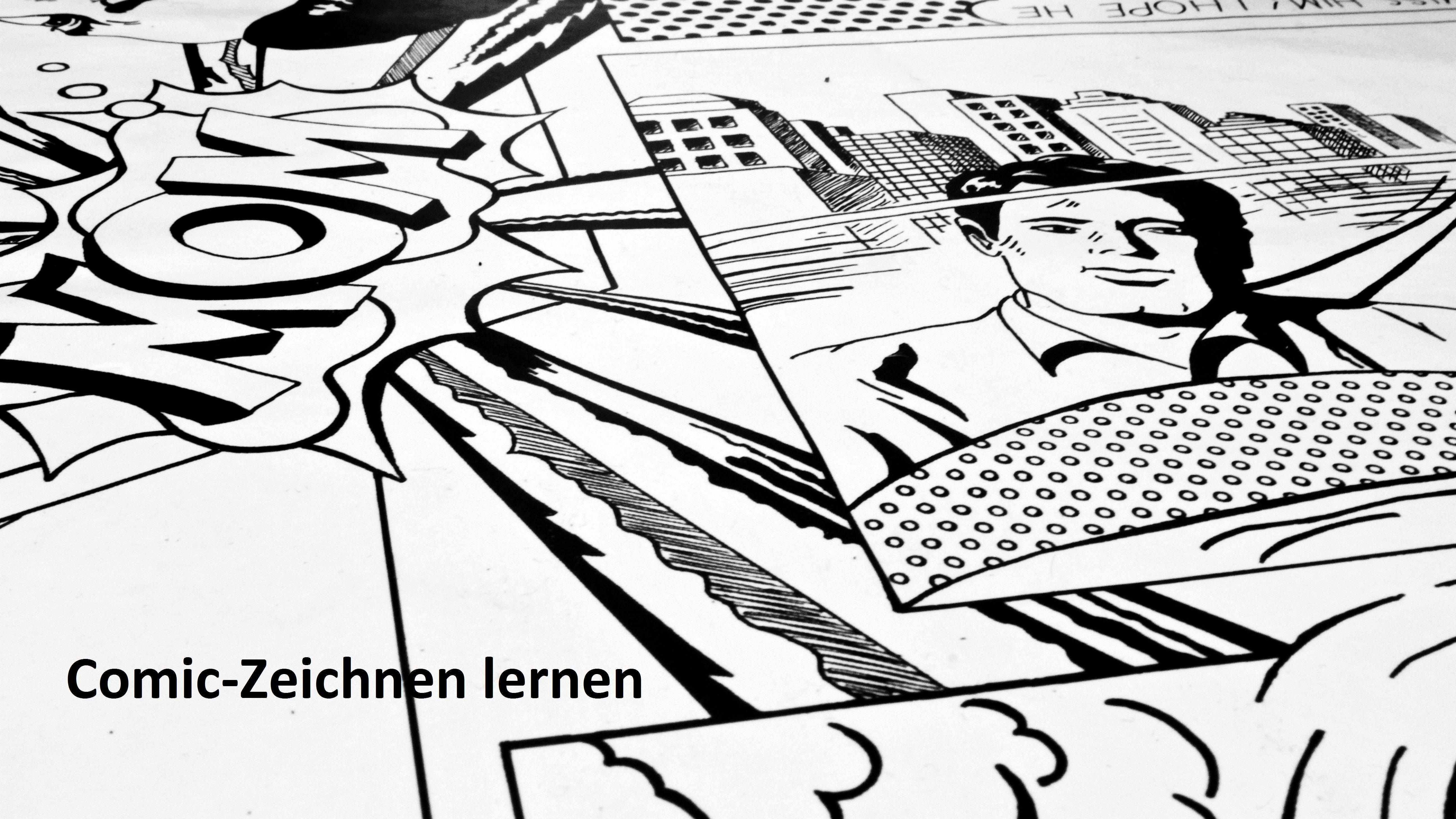 Comic Zeichnen Lernen Funf Gute Online Tutorials Comic Zeichnen Lernen Comic Zeichnen Und Zeichnen Lernen