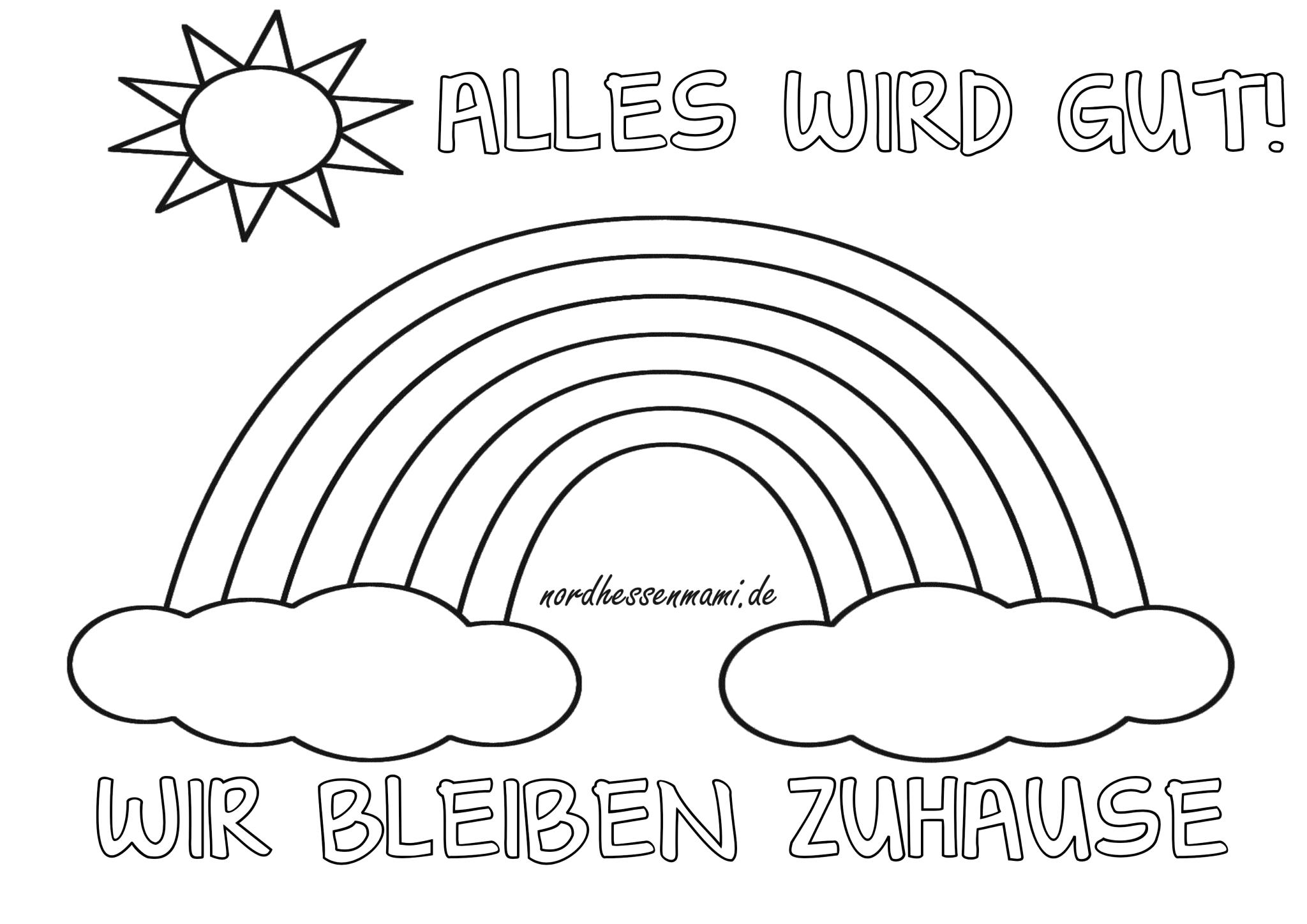 Pin Von Heike Prauser Gohler Auf Regenbogen In 2020 Regenbogen Mandala Zum Ausdrucken Kinder