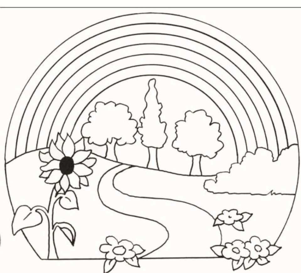Malvorlagen Regenbogen Ausdrucken 3 Ausmalbilder Schone Ausmalbilder Stoffmalerei