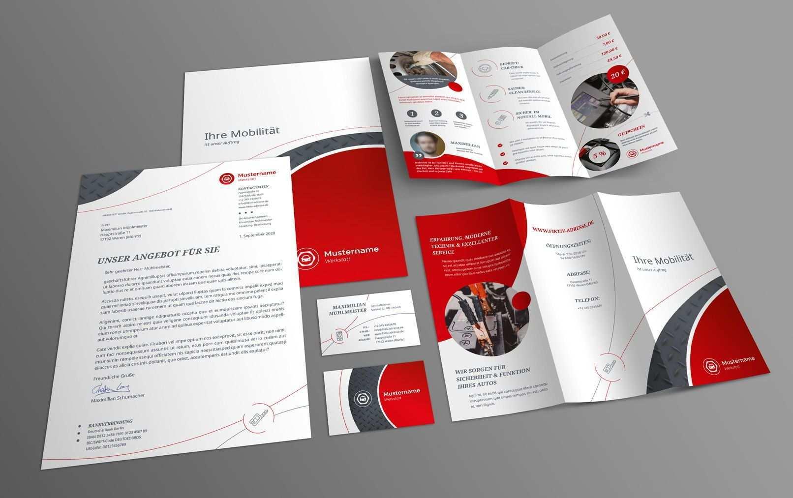 Corporate Design Vorlage Fur Werkstatt U A Mit Powerpoint Layout Powerpoint Layout Corporate Design Layout