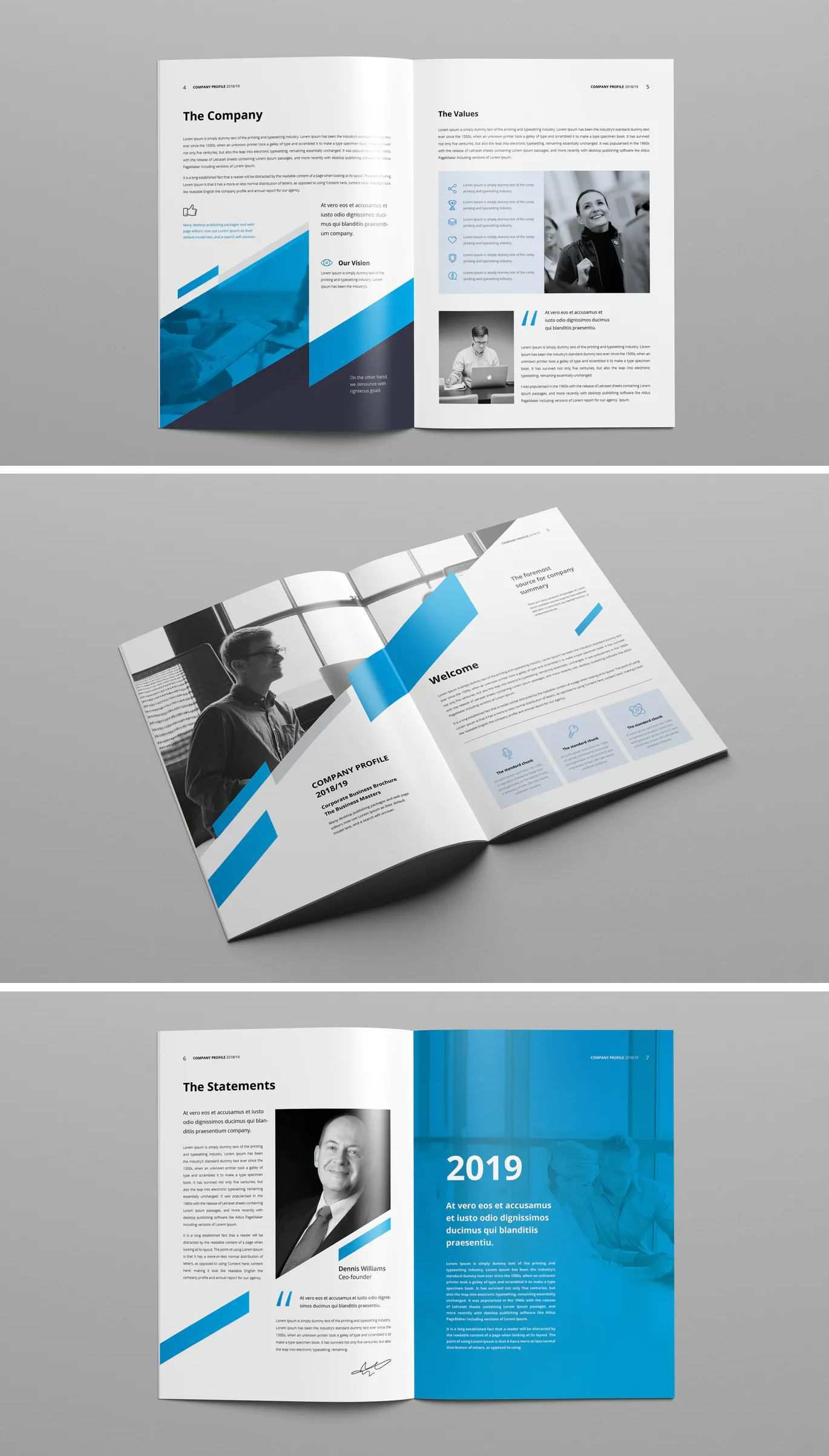 Clean Professional Corporate Brochure Template In 2020 Corporate Brochure Design Corporate Brochure Brochure Design Template