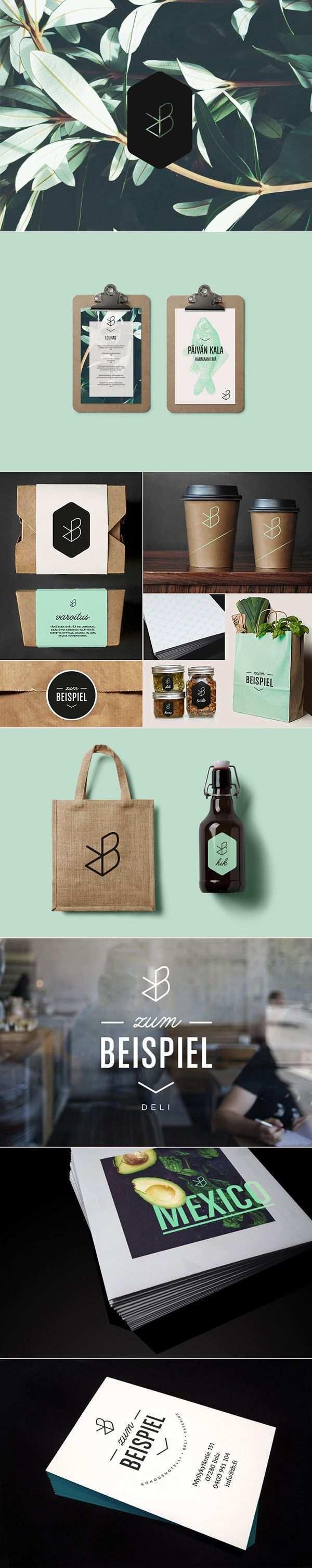 Zum Beispiel Identity On Behance Branding Design Inspiration Graphic Design Branding Identity Design