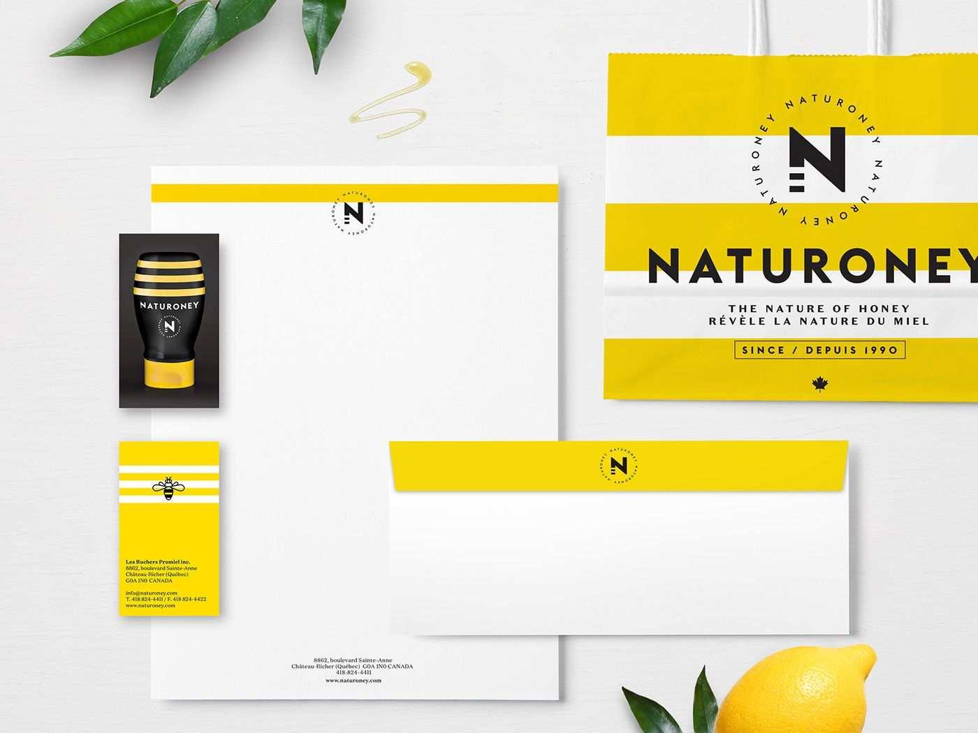 Naturoney The Nature Of Honey On Behance Honey Brand Creative Packaging Design Identity