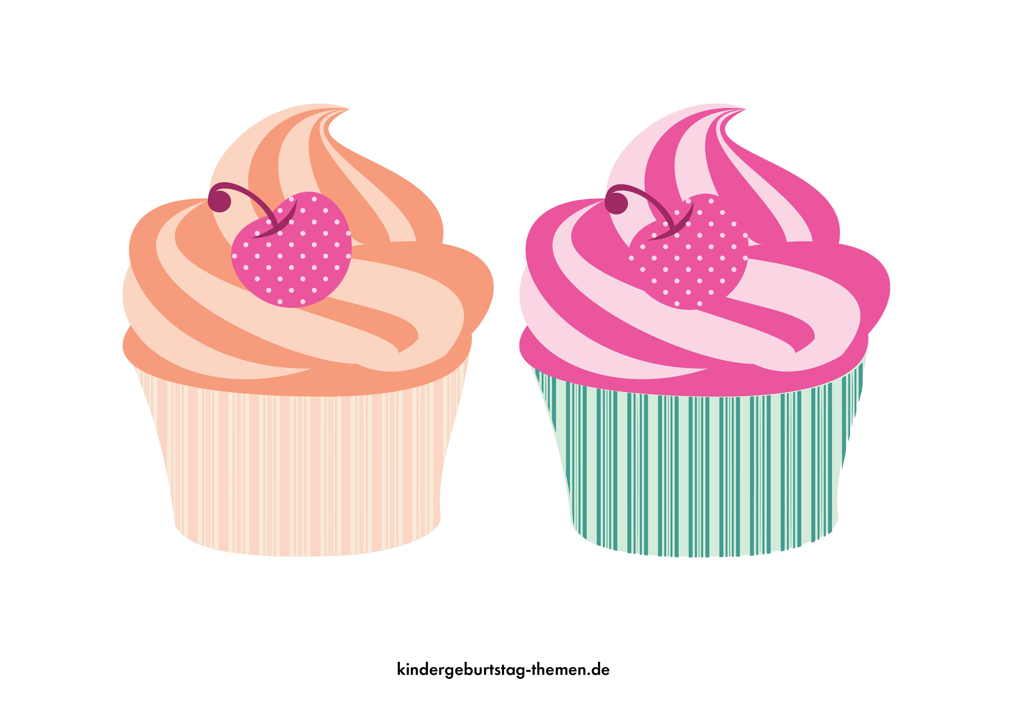 Muffin Einladung Selbst Basteln Vorlagen Zum Ausdrucken Einladungen Basteln Kinder Geburtstag