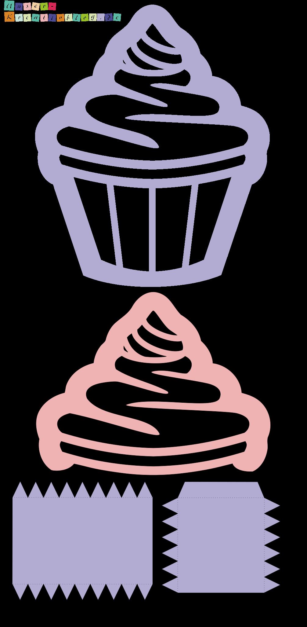Bastelvorlage Cupcake Laterne Zu St Martin Laterne Basteln Vorlagen Laternen Basteln Basteln