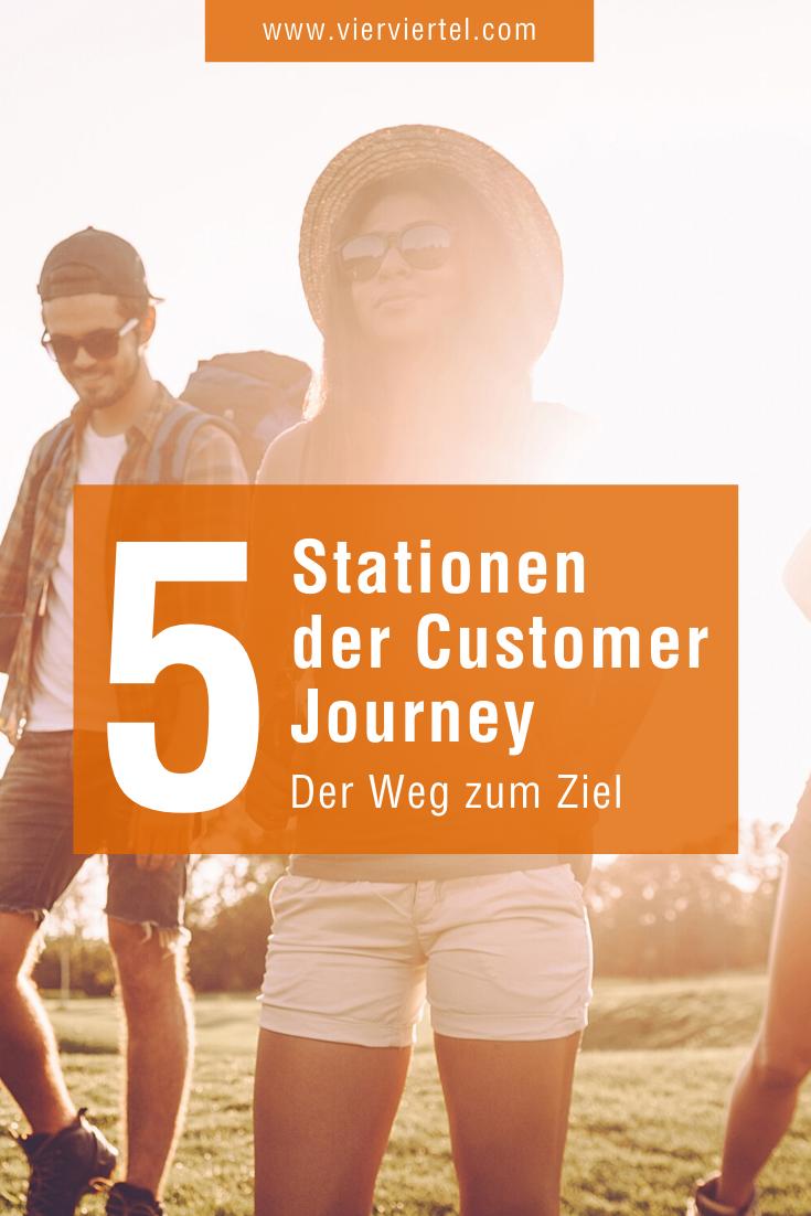 Die 5 Stationen Der Customer Journey Kurz Und Knapp Mit Beispiel In 2020 Inbound Marketing Online Marketing Strategie Online Marketing