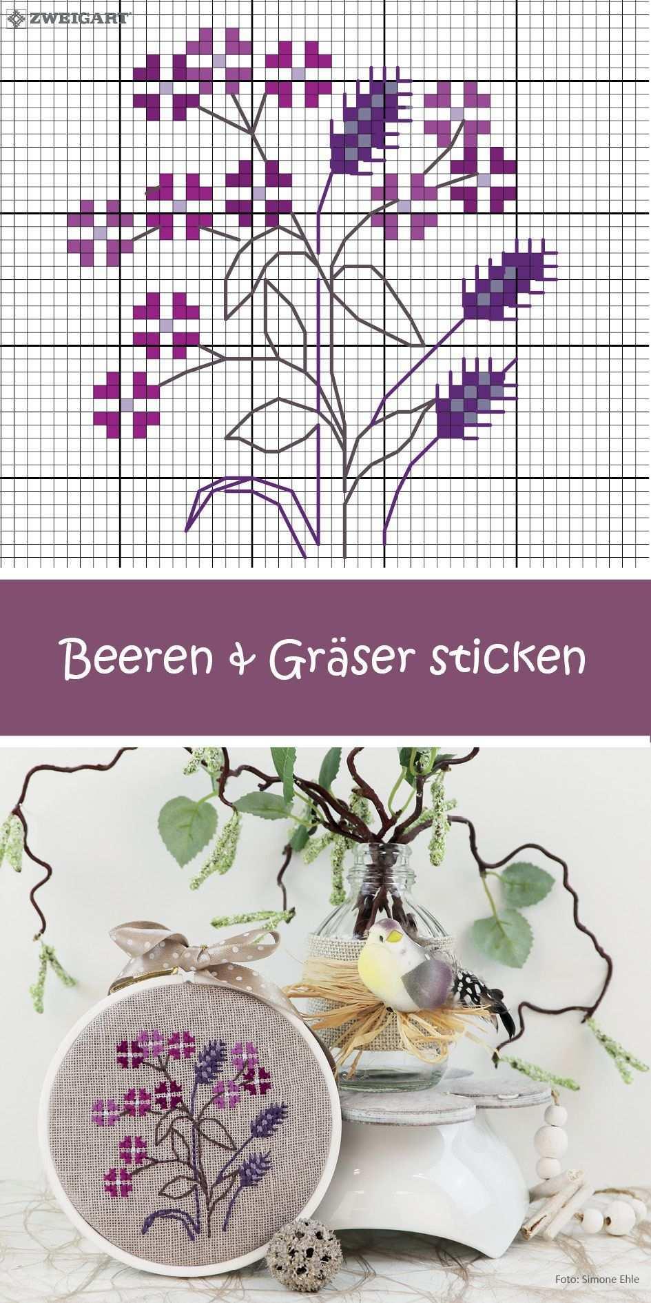 Blumen Und Graser Sticken Entdecke Zahlreiche Kostenlose Charts Zum Sticken Sticken Blumen Sticken Kreuzstich Kostenlose Kreuzstichmuster