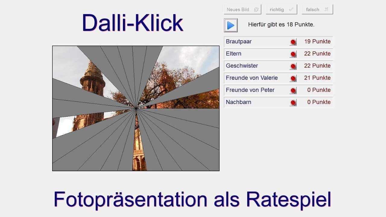 Fotoprasentation Als Spiel Dalli Klick Youtube