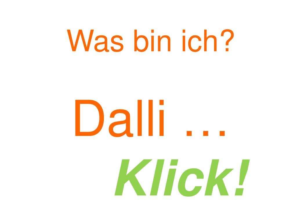 Ppt Was Bin Ich Dalli Klick Powerpoint Presentation Free Download Id 6029113